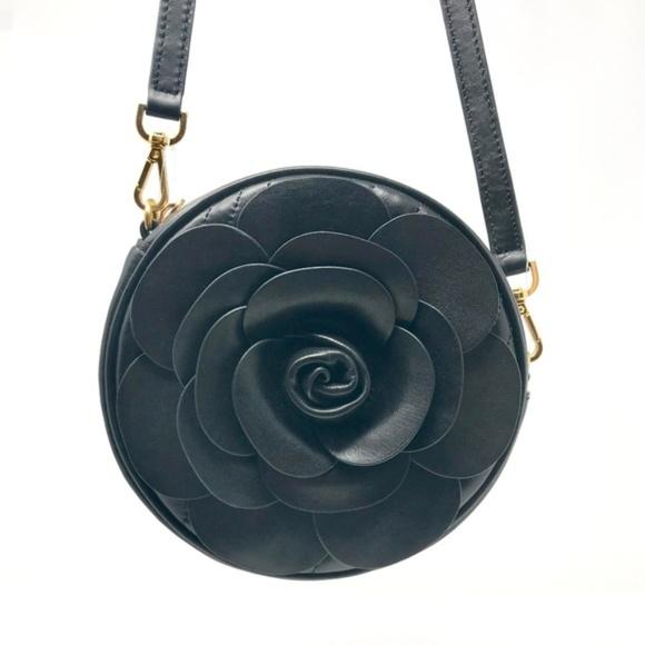 055dfef9a3f5 Michael Kors Vivianne Canteen Floral Rose Black